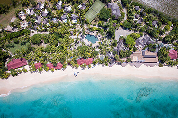 Galley Bay Resort & Spa aerial