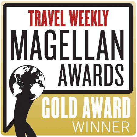 Travel Weekly Magellan Awards - Gold Winner