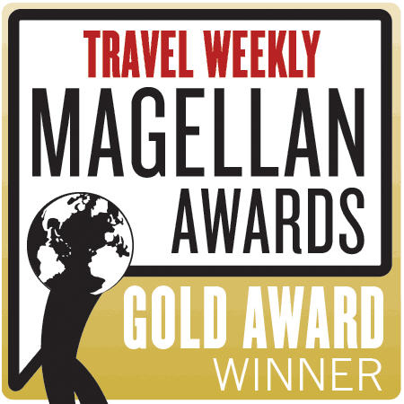 Travel Weekly Magellan Awards - Gold Winner