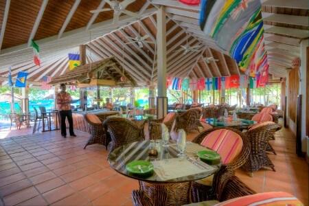 Inside Sunset bar
