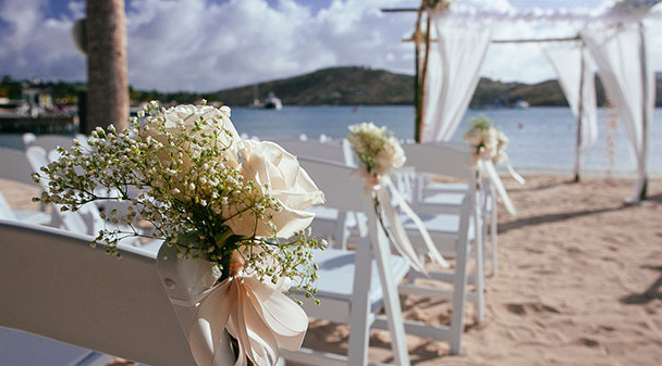 Night Beach Wedding Reception Elegant Caribbean Island: All Inclusive Caribbean Beachfront Wedding Packages & Events