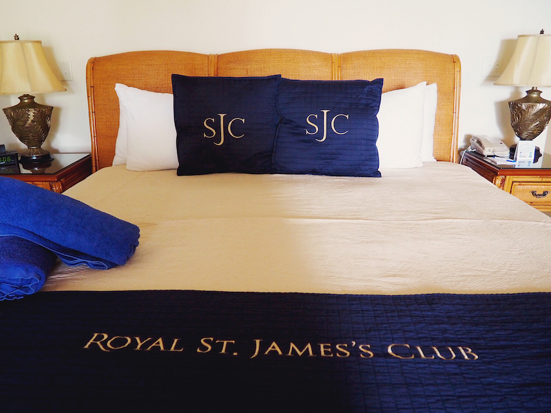 Elite Islands UK - st James Club Luxury Bed