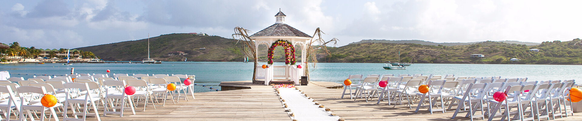 Weddings at St. James's Club & Villas