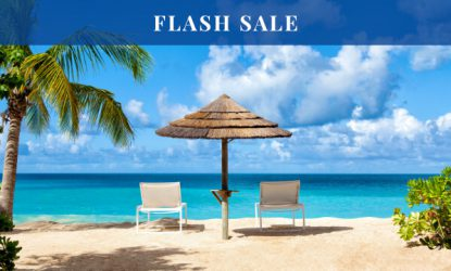 Caribbean holiday flash sale