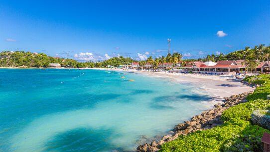 Pineapple Beach Club beachfront view